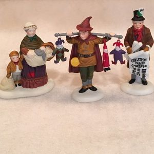 "Dept 56, ""Portobello Road Peddlers"""
